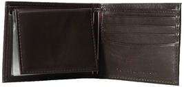 Tommy Hilfiger Men's Premium Leather Credit Card ID Passcase Billfold Wallet image 12