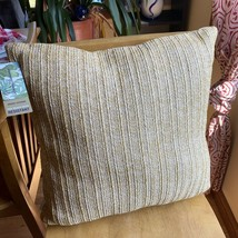 TOMMY BAHAMA Raffia Outdoor Throw Pillow Fade Water Mildew Resistant 22 ... - $64.35