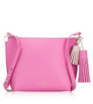 NWT Kate Spade WKRU3831 Pepper Foster Court Pink Shoulder Bag Handbag Cr... - $152.99