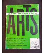 Vntg.  ARTS MAGAZINE February 1964 The Art Digest Alfred Werner Sidney T... - $22.76