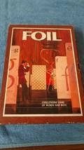 Vintage FOIL 1968 3M bookshelf board game challenging word Factory sealed cards - £14.23 GBP