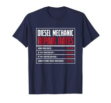 Brother Shirts - Diesel Mechanic Shirt - Repair Rates Men - $19.95+