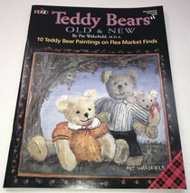 NEW Teddy Bears Old & New Pat Wakefield Decorative Tole Painting Book Pl... - $0.97