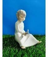 Vintage NAO Lladro Daisa Spain Porcelain Figurine Glazed  - $14.30