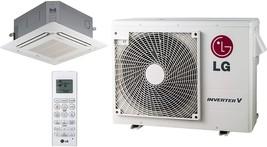 LG - LUU247HV Cooling/Heat Pump Outdoor, LCN247HV Ceiling Cassette,24,000 BTU 17 - $7,426.42