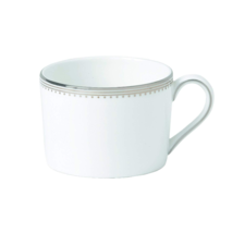 VERA WANG WEDGEWOOD PLATINUM GROSGRAIN 1 TEA CUP MADE IN ENGLAND BONE CH... - $59.75