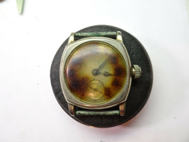 Elgin Vintage Elgin Cushion Case Watch For Restoration Or Parts.Balance Broken - $130.62