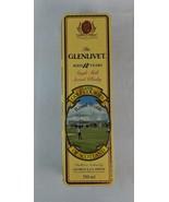 Glenvliet Single Malt Scotch Whisky Collectible Golf Tin - $11.87