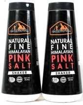 2 Count 84 Elements 26.5 Oz 100% Natural Fine Non GMO Himalayan Pink Sal... - $15.99