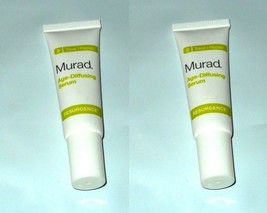 2 x Murad  Intensive Age-Diffusing Serum  Professional  0.33 oz 10 ml x 2 - $9.89