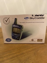Sky Caddie SG2 Rangefinder Sky Golf GPS, in box w Charger And CD - $23.38