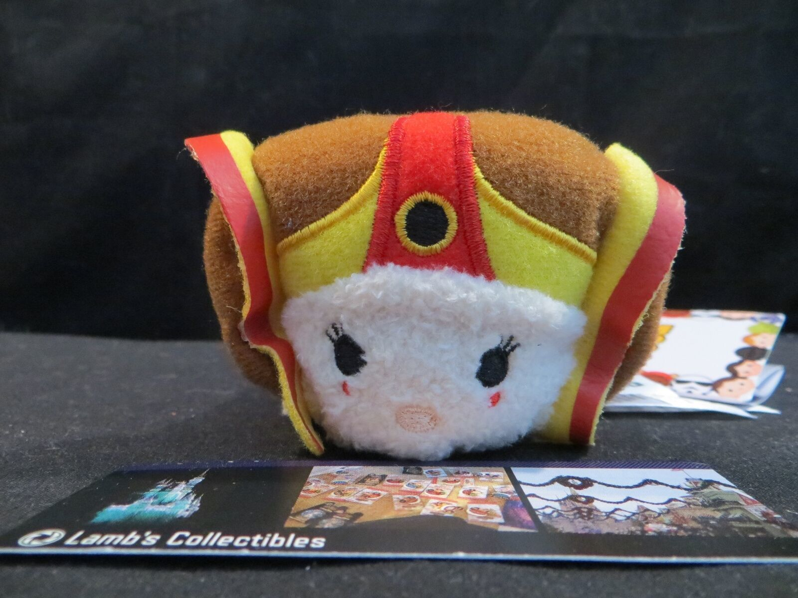 "Primary image for Star Wars Queen Amidala (tm) Padme mini 3.5"" tsum tsum Disney Store plush toy"