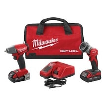 """Milwaukee Electric Tools M18 FUEL 3/8"""" Impact Wrench w/ LED Light Kit - $373.23"""