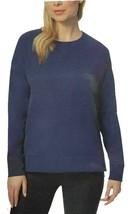 32 Degrees Women's Fleece Crewneck Pullover Sweatshirt (Indigo, Medium) - $19.99