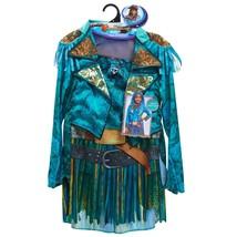 2 Uma Dress Up Disney Jacket Dress Descendants Set Costume Size 4-6x For... - $26.96