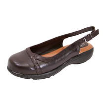 PEERAGE June Women Wide Width Casual Leather Clogs for Everyday - $58.45