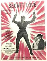 Segreto Amore 1943 Doris Day IN Calamity Jane Foglio Musica - $6.94