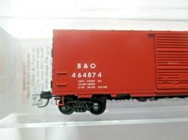 Micro-Trains # 07300290 Baltimore & Ohio 40' Standard Boxcar N-Scale image 2