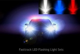 Flashing LED Light Sets For Model/Diecast Toys Van Police Fire Ambulance - $5.55+