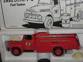 First Gear-1951 Ford F-6 Fuel Tanker Truck-DX Motor Fuel -FREE Shipping - $30.00