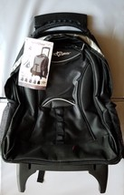 NWT Pacific Gear Rolling Backpack Carry On Suitcase Computer Laptop Trav... - $48.49