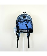 New Kipling x Disney Jungle Book Paola In the Wild Backpack Black/Blue - $46.46