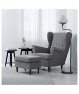 IKEA STRANDMON Ottoman, Nordvalla dark gray - $104.93