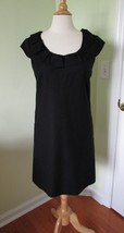 J.CREW Women's 4 WOOL Ribbon Ravine DRESS Black Career Wear to Work wool - $28.02