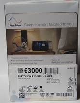 New Res Med Full Face Air Touch F20 Cpap Mask Small - $124.99