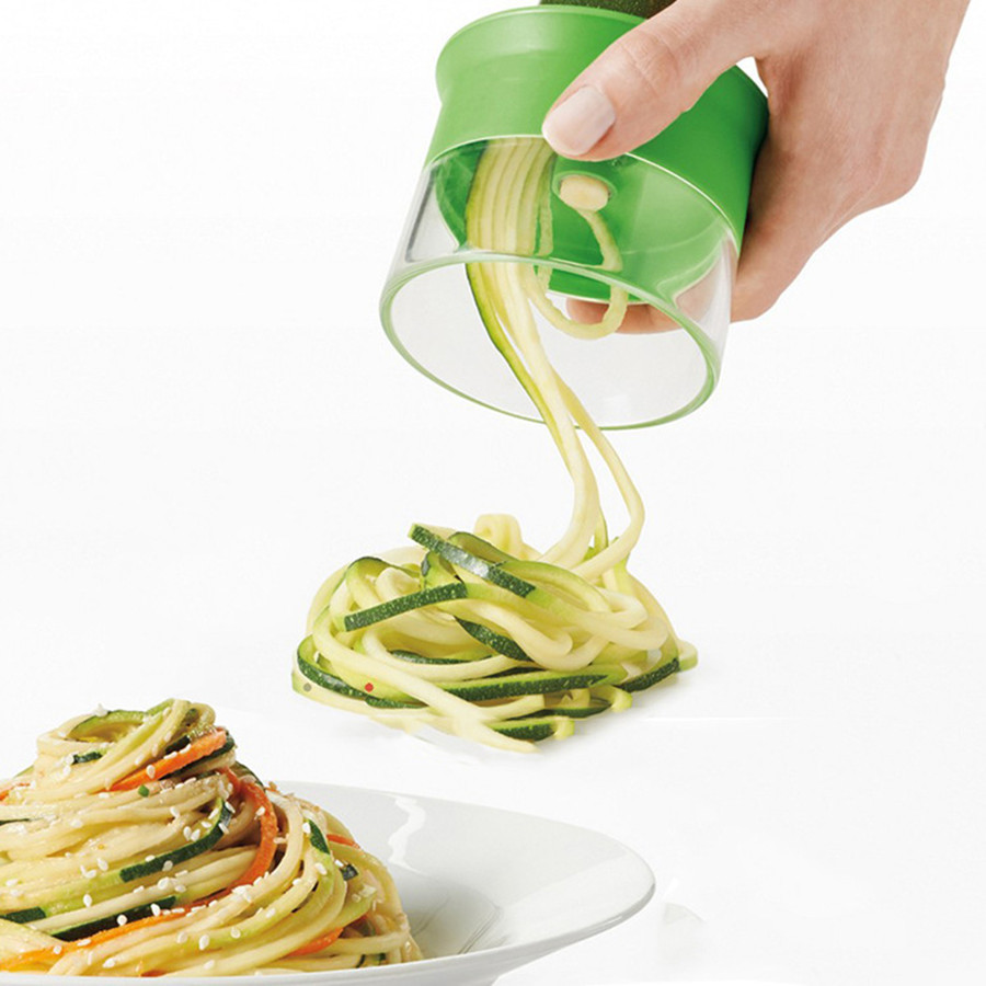 Etable spiralizer plastic vegetable slicer shredders peeler cutter carrot grater kitchen gadgets