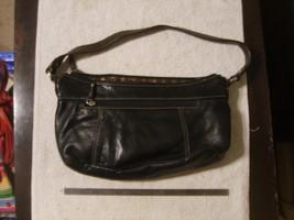 Tignanello Black Leather Purse - $16.00