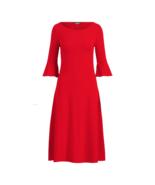 NWT WOMEN LAUREN-RALPH LAUREN PETITES Bell Sleeve Dress PXS - $30.99