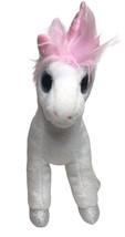 """TY Mystic Unicorn Large Eyes White & Pink Plush 7"""" Stuffed Animal Toy 2013 - $18.76"""