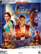 Disney Aladdin (Blu-ray + DVD + Digital, 2019)