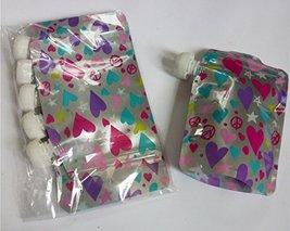 Eco-Pouch Reusable 1-cup Leak-Resistant Food/Drink Pouch 5-Pack Bundle; ... - $23.99