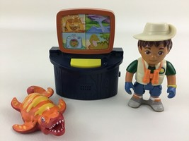 Go Diego Go Animal Rescue Center Dinosaur Talking Computer Dino Fisher P... - $18.76