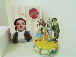 WIZARD OF OZ MUSICAL FIGURINE WE'RE OFF TO SEE THE WIZARD SAN FRAN MUSIC... - $48.51