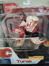 Roman Turek - McFarlane NHL Series 3 - Calgary Flames - $14.80
