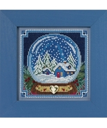Snow Globe 2017 Winter Series Buttons and Beads cross stitch kit  Mill Hil - $12.60