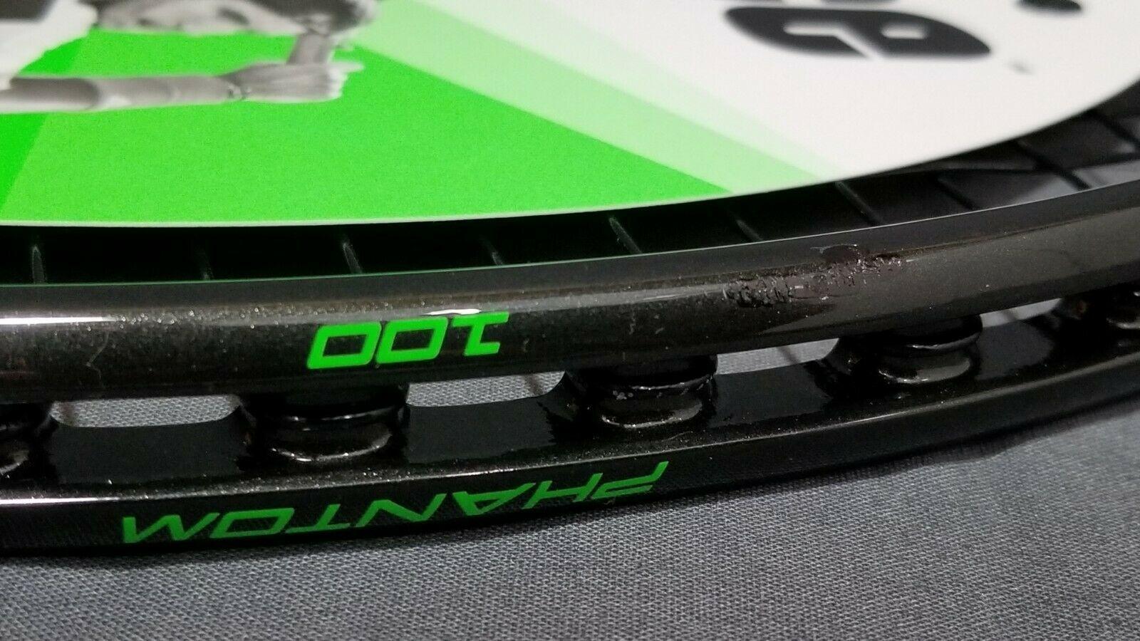 NEW Prince Textreme Phantom 100 Tennis Racquet 4 1/2 Strung