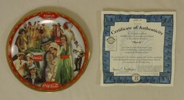 Bradford Exchange 8293A * Coca-Cola Collector Plate 5 3/4in March 1999 P... - $43.05