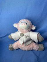 Dress Barn Pink Baby Lela Lamb With Gray Feet 2004 Plush Stuffed Animal Toy - $19.99