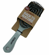 Conair Back To Nature Smooth and Shine Flexi Head Hair Brush Soft Bristle - $10.88