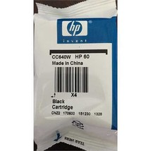 60 HP black ink DeskJet F4580 F4480 F4440 F4435 F4280 F4240 F4235 F4210 ... - $37.57