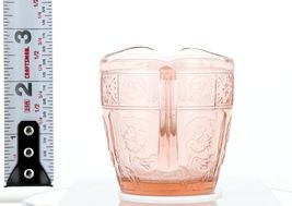 Pink Doric and Pansy Pretty Polly Party Child's Toy Depression Glass Creamer image 4
