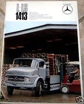 1967 TRUCK L-LS 1413 MERCEDES BROCHURE  - $34.99