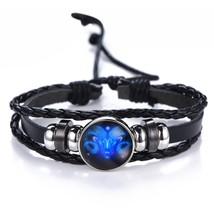 DropShiping Gemini Cancer Leo Virgo Libra Scorpio 12 Constellation Black... - $13.01