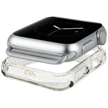 CaseMate Sheer Glam Bumper Case  for Apple Watch 42mm transparent Free D... - $16.52
