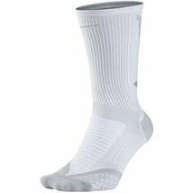 NIKE Men's Elite 2.0 Cushioned Crew Golf Socks White X-Large 12-13.5 SG0... - $15.99