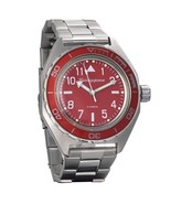 Vostok Komandirskie Automatic Russian wrist watch 650840 /2415.01 Red Ne... - $83.01